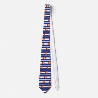 Flag of Colorado Neck Tie