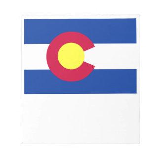 Flag of Colorado Memo Note Pad