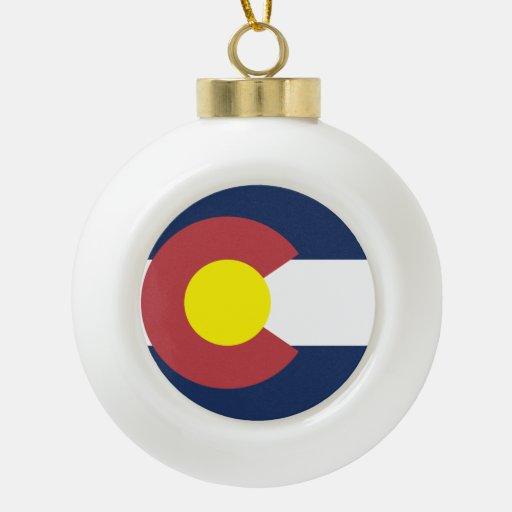 Flag of Colorado Ornament