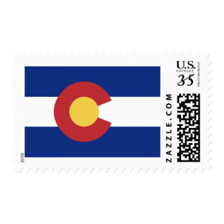 Flag of Colorado Postage Stamps