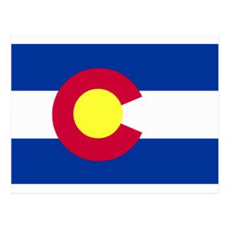 Flag of Colorado Postcard