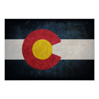 Flag of Colorado Posters