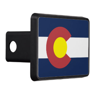 Flag of Colorado Tow Hitch Cover