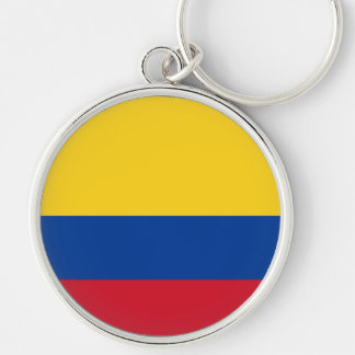 Flag of Columbia, Republic of Colombia Keychain