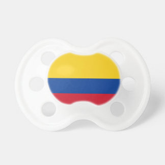 Flag of Columbia, Republic of Colombia Pacifier
