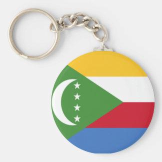 Flag of Comoros Keychain