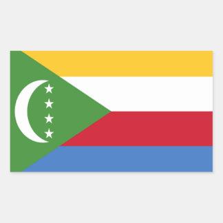 Flag of Comoros Stickers