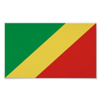 Flag of Congo Poster