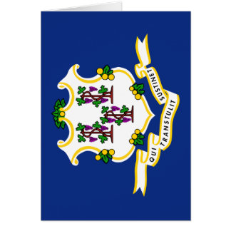 Flag of Connecticut Card