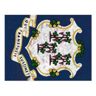 Flag of Connecticut Postcard