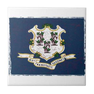 Flag of Connecticut Tile
