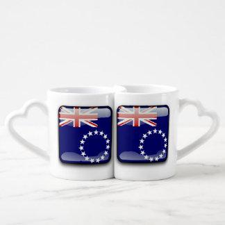 Flag of Cook Islands Coffee Mug Set