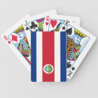 flag of Costa Rica Bicycle Playing Cards