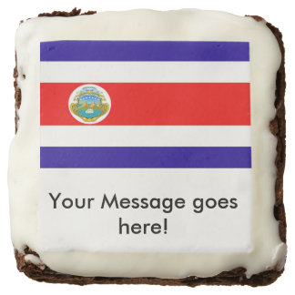 Flag of Costa Rica Brownie