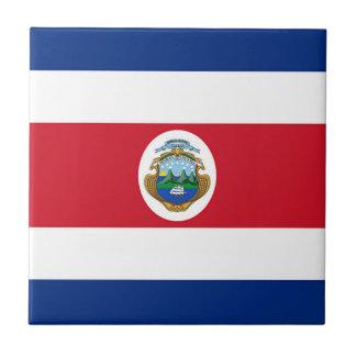 Flag of Costa Rica Ceramic Tile