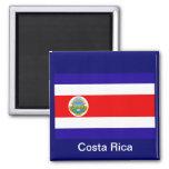 Flag of Costa Rica Fridge Magnet