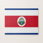 "Flag of Costa Rica Jigsaw Puzzle<br><div class=""desc"">Flag of Costa Rica. You can personalize the design further if you&#39;d prefer,  such as by adding your name or other text,  or adjusting the image - just click &#39;Customize&#39; to see all the options.</div>"