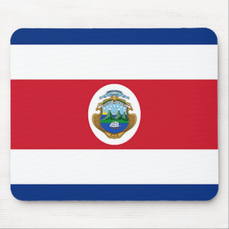 Flag of Costa Rica Mouse Pad