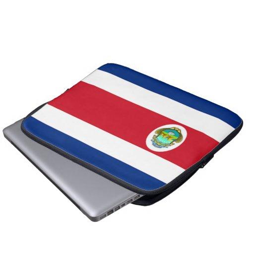 Flag of Costa Rica Neoprene Laptop Sleeve 13 inch
