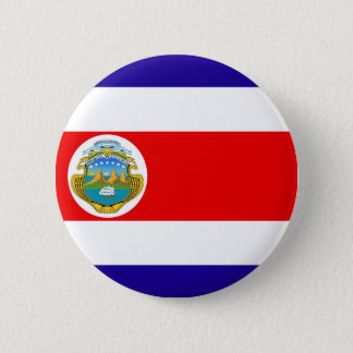 Flag of Costa Rica Pinback Button