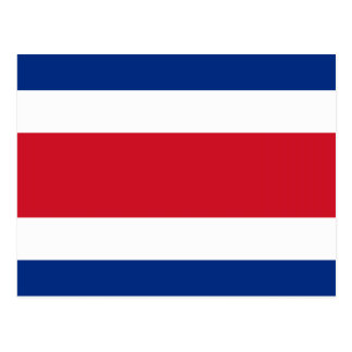 Flag of Costa Rica Postcard