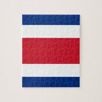 Flag of Costa Rica Puzzles