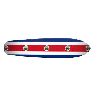 Flag of Costa Rica Skateboard Deck