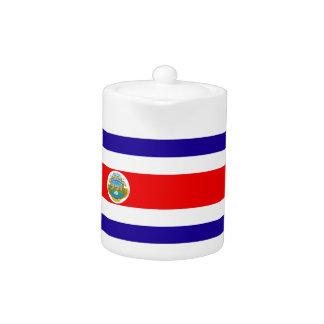 Flag of Costa Rica Teapot