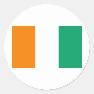 Flag of Cote D&Apos;Ivoire Sticker