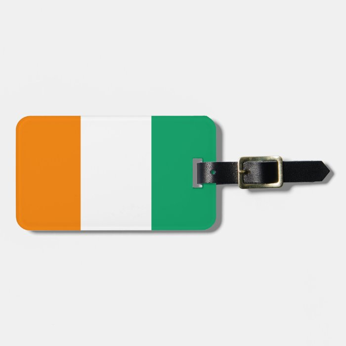Flag of Cote d'Ivoire Easy ID Personal Bag Tag