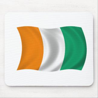 Flag of Cote d'Ivoire - Ivory Coast Mouse Pad