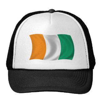 Flag of Cote d'Ivoire - Ivory Coast Trucker Hat