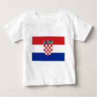 Flag of Croatia Baby T-Shirt