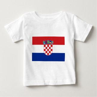 Flag of Croatia Baby T-Shirt