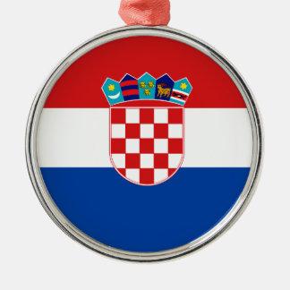 Flag of Croatia Christmas Tree Ornament