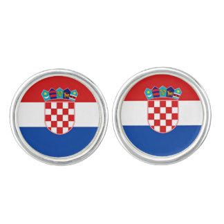 Flag of Croatia Cufflinks