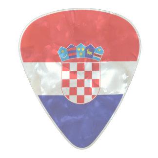 Flag of Croatia Guitar Picks