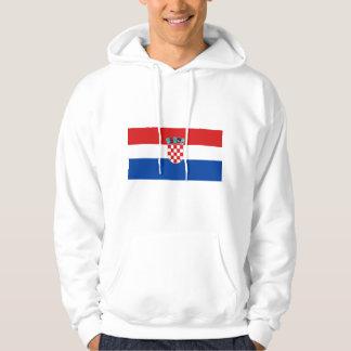 Flag of Croatia Hooded Pullover