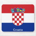 Flag of Croatia Mouse Pad