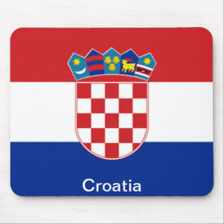 Flag of Croatia Mouse Pad