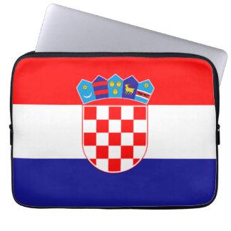 Flag of Croatia Neoprene Laptop Sleeve
