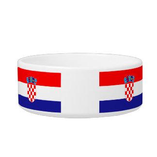 Flag of Croatia Pet Water Bowl
