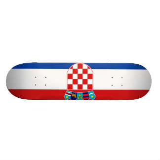 Flag of Croatia Skateboard Deck
