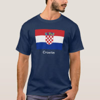 Flag of Croatia T-Shirt