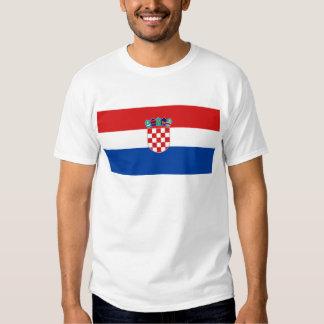 Flag of Croatia Tee Shirt