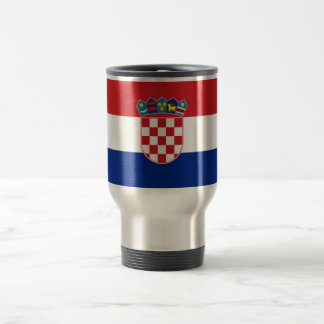 Flag of Croatia Travel Mug