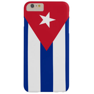 Flag of Cuba Barely There iPhone 6 Plus Case