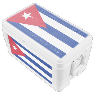 Flag of Cuba Chest Cooler