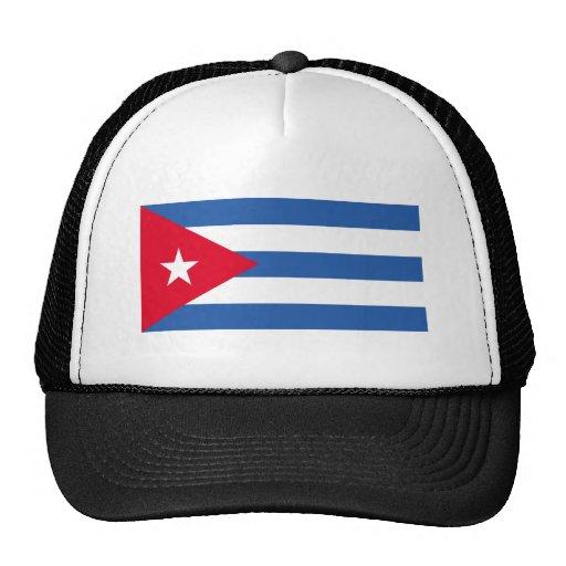 Flag of Cuba Mesh Hats
