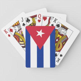 Flag of Cuba Poker Cards